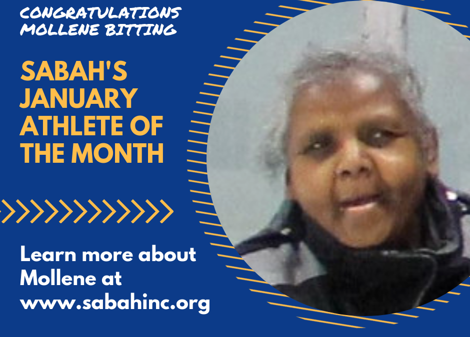 Mollene Bitting – January Athlete of the Month
