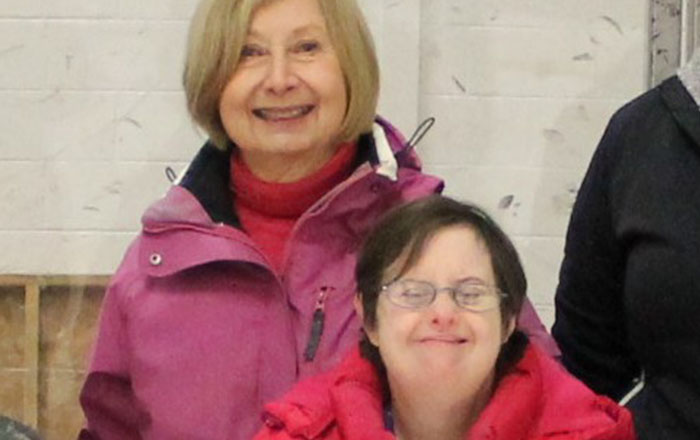 Lettie Cartonia and Robin Pajak – April Athlete of the Month